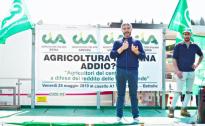 OLTRE 100 TRATTORI AL CASELLO A1 DI BETTOLE  PER LA MODIFICA ALLA LEGGE SULLA CACCIA 157/92